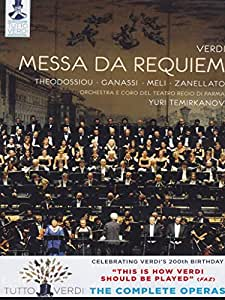 Verdi: Messa Da Requiem [Dimitra Theodossiou, Sonia Ganassi, Francesco Meli] [C Major: 725408] [DVD] [NTSC] [2013]