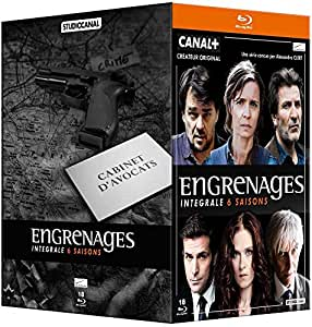 Engrenages - Intégrale 6 saisons [Blu-ray]