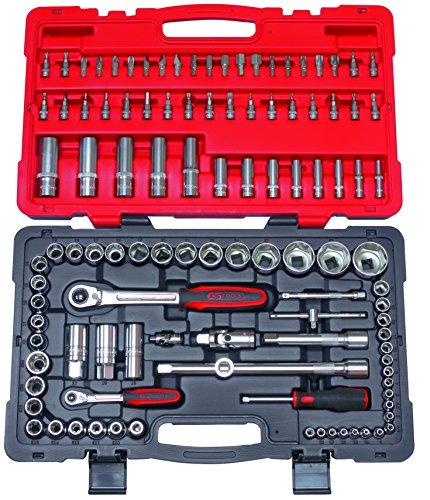 Coffret de douilles et accessoires ULTIMATE 1/4'' - 1/2'', 111 pièces