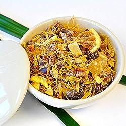 Früchte des Orients Limette Blutorange Mandarine 100g loser Tee Frucht Früchtetee
