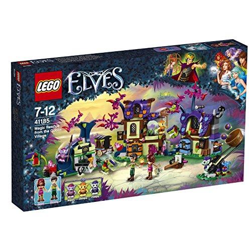 Preisvergleich Produktbild LEGO Elves 41185 - Magische Rettung aus dem Kobold-Dorf, Kreatives Spielzeug