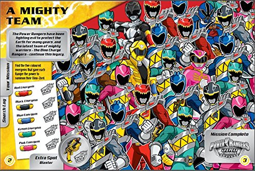 Image of Power Rangers: Search and Find (Search & Find)