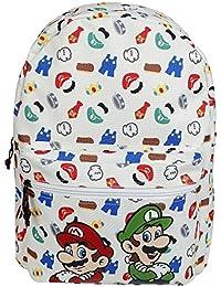 Nintendo Mochila Mario & Luigi Backpack Íconos bolso XL