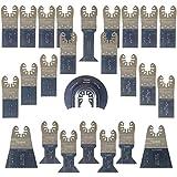 25 x SabreCut SPK25A Fast Fit Mix Klingen für Dewalt, Stanley, Black und Decker, Bosch, Fein Multimaster, Multitalent, Makita, Milwaukee, Einhell, Ergotools, Hitachi, Parkside, Ryobi, Worx, Workzone Multitool Multi Tool Multifunktionswerkzeug Oszillierwerkzeug Zubehör