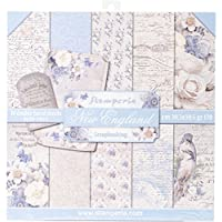 """Stamperia Intl Double Sided Paper Pad (10/Pack), Blue, 12"""" x 12"""""""