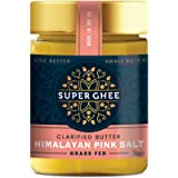 Super Ghee with Himalayan Pink Salt - Pure and Organic Grass-Fed Ghee Butter, Lactose & Gluten Free, Clarified Healthy…