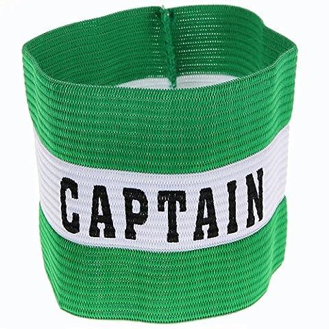 Precision Training Captain's Armband Snr Green
