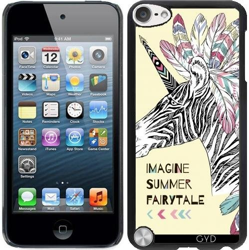 Hülle für Ipod Touch 5 - Fantasie Zebra Einhorn by Olga Angelloz Design