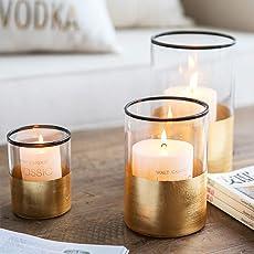 Regis Kerzenhalter,Glasscandle Halter -quecksilber Glas Kerzenhalter Für Hochzeiten, Parteien Und Home Dekor