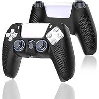 Electomania Controller Skin, PS5 Controller Silicone Cover Case, PS5 Controller Skin Anti-Slip Silicone Protector Case…