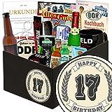 Geschenke 17 Hochzeitstag | Geschenk für den Mann | 17. Geburtstagsgeschenk | mit Erichs Rache, Held der Arbeit Flaschenöffner und mehr