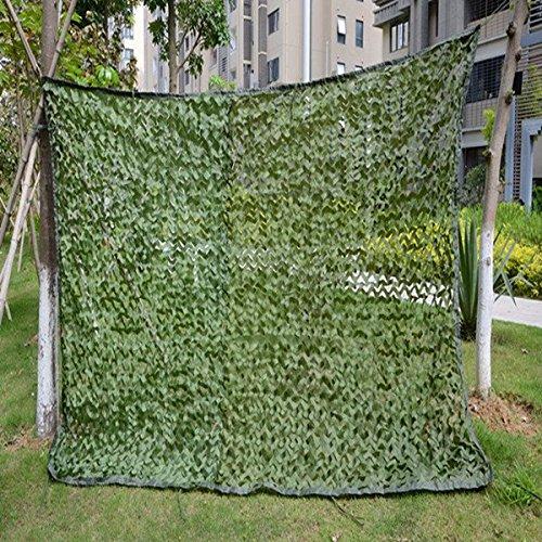 6.5'x10 'Camo Netting für Jagd Schießen Angeln Camouflage Netz 2x3m (Multicolor) Camo Blind Material