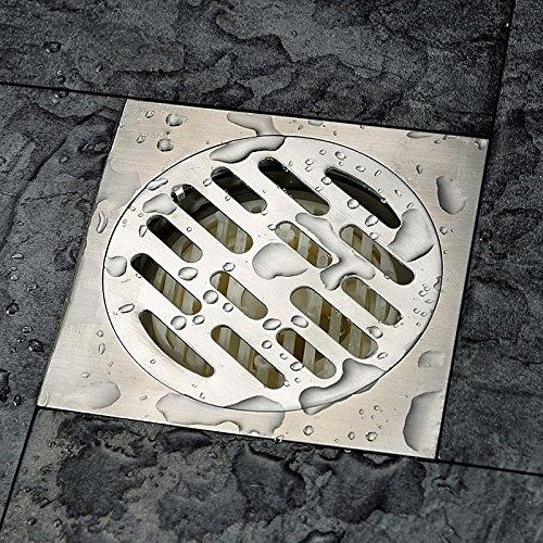 KHSKX Dick Edelstahl, Klicken Sie auf Einen der Vier Anti-Boden Leckage Bad Waschmaschine Riecht Rostschutzmittel Auf-10 * 10 cm Leck, B