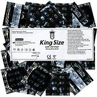 Preisvergleich für Kung «Loose» 144 sehr große Kondome Bulk-Pack, 60mm Breite, King Size Kondome