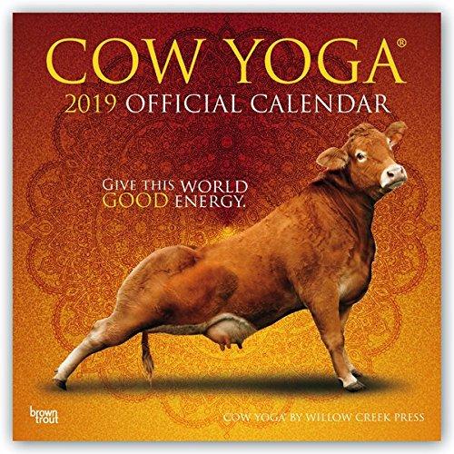 Cow Yoga – Kuh-Joga 2019 - 18-Monatskalender (Wall-Kalender)