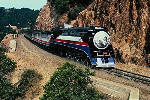 578080 1 American Freedom Train (SP) 4449 Cape Horn CA A4 Photo Poster Print 10x8