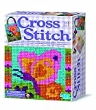 Cross Stitch - Girl Girls Kids Children Child - Rainy Day Activity Kit - Great Christmas Xmas Gift Present Fun Games & Toys Idea Age 8+