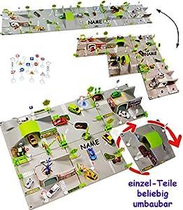 Set: XXL 3-D Spielmatte - \