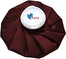 Arsa Medicare Ice Bag (9 Inch) Used for First Aid, Sport Injury, Pain Relief and Cold Therapy, Reusable-Premium Range, Multy Colour