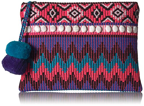 ale-by-alessandra-womens-purple-reign-tribal-clutch-with-moonstones-and-poms-multi-one-size