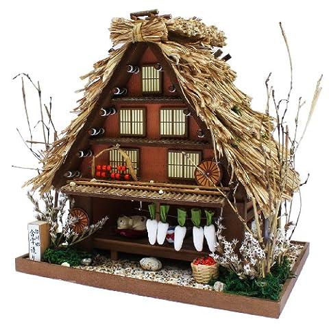 A-frame 8611 Billy handmade Dollhouse Kit Road Series Road Shirakawa Shirakawa-go (japan import)