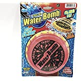 Water Bomb Red Bottle Cap Flyer Water Sponge Frisbee Accurate Toss Flying Pool/Beach Toy