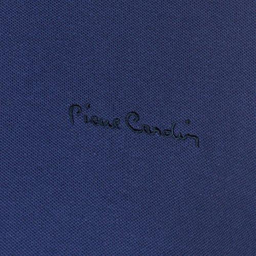 Pierre Cardin Herren Tipped Polo Shirt Kurzarm Dunkel Blau