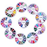 Cheeky manucure ongle deco Nail Art Décoration 10 roues 3D Fimo Nailart.