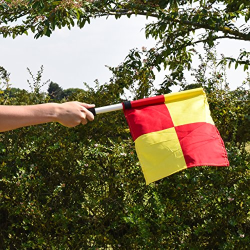 UEFA Football Linesman   s Flags  With Carry Bag   Net World Sports
