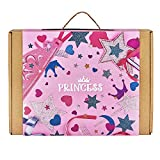 #10: Jackinthebox Princess 3-In-1 Craft Kit For Girls: Contains A Princess Cape, Tiara, And Wand