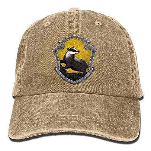 Hoswee Unisex Kappe/Baseballkappe, Outta Hufflepuff Adjustable Cotton Cap