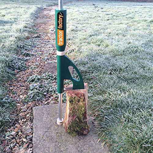 Tractor Factory Log Splitter Easy & Safe to use compared with swinging an axe