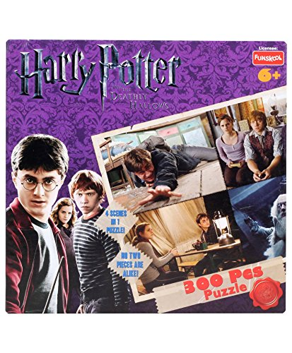 Funskool Harry Potter 4-in-1 PZ 2014, Multi Color (300 Pieces)