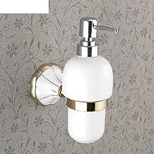 NAUY-estilo europeo y americano higi¨¦nico para lavarse las manos / parrilla ba?o de pintura blanco y oro-cobre toda la base de cer¨¢mica