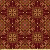 ABAKUHAUS Mandala Stoff als Meterware, Orientalisches