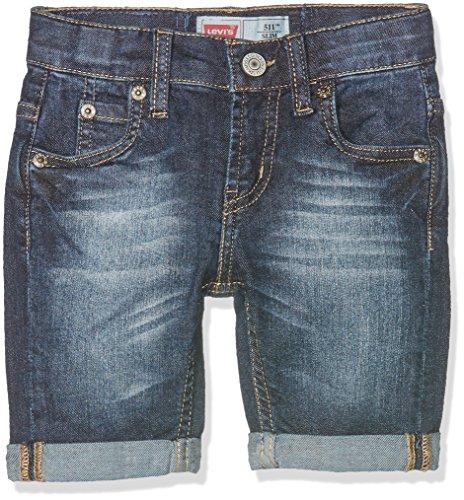 Levi's Kids Jungen Shorts BERMUDA 511 BERMUDA 511 NJ25017, Gr. 128 (Herstellergröße: 8A), Blau (Sodalite Blue 46) (Shorts Levis Slim)
