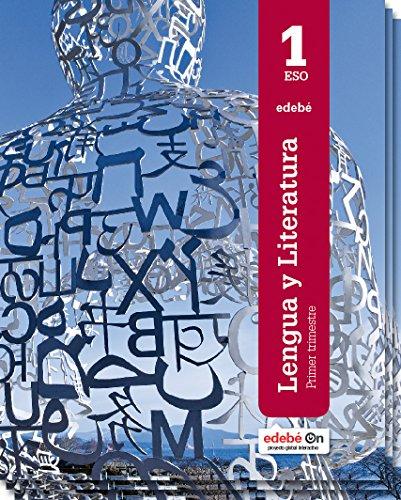 Lengua y literatura, 1 ESO por Obra Colectiva Edebé