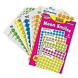 2500 Neon Smiles superSpots Variety Pack Reward Stickers