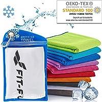 Kühlendes Handtuch perfekt als Mikrofaser Sporthandtuch oder Kühltuch – Cooling Towel für Fitness, Sport, Reise, Yoga