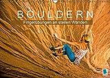 Bouldern: Fingerübungen an steilen Wänden (Wandkalender 2017 DIN A3 quer): Bouldern: Klettern am Limit (Monatskalender, 14 Seiten) (CALVENDO Sport)