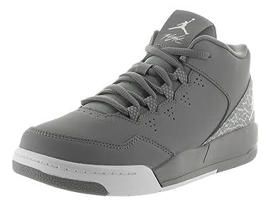 best sneakers 9e391 4f3ea Nike Jordan Kids Jordan Flight Origin 2 Bp Cool Grey White Wolf Grey Basketball  Shoe 1 Kids US  Amazon.co.uk  Shoes   Bags