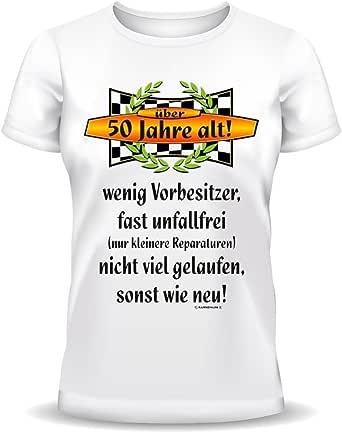 Lustige Sprüche Fun Tshirt über 50 Jahre alt! - 50 ...