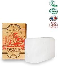 OSMA LABORATOIRES Alaun Block Pietra in allume di potassio (allume di rocca), 75 g