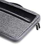 ESR 13.3 Zoll Laptoptasche Handtasche Ultrabook Sleeve Case Tablet Hülle mit Zusätzlichem Stauraum für MacBook Air/Pro/Retina Display 12,9 Zoll iPad/Samsung/Sony Notebook Etc,Schwarz