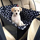 MATCC Dog Car Seat Single Seat For Back Seat Waterproof Dog Car Seat