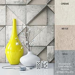 Steintapete Vliestapete Grau Beige Edel , Schöne Edle Tapete Im Grafik  Design , Moderne 3D Optik