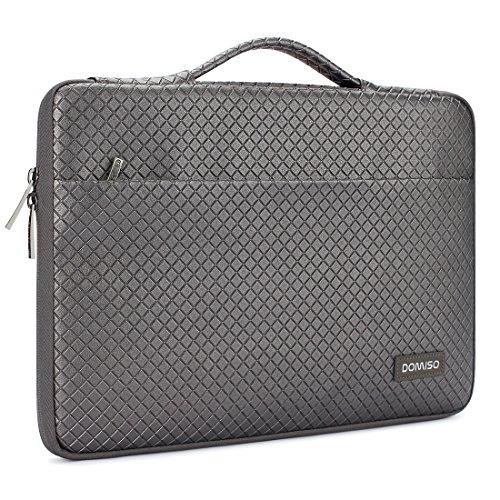 DOMISO 15-15,6 Zoll Wasserdicht Laptophülle Notebook Tasche Schutzhülle mit Griff für 15.6