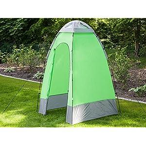 skandika shower utility tent - green/grey, 1 persons