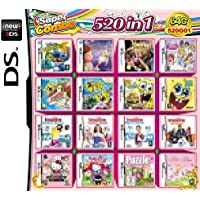 520 Games in 1 NDS Game Pack Card Super Combo Cartridge for DS NDS NDSL 2DS New 3DS XL