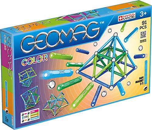 Geomag 263 Color Konstruktionsspielzeug, 91-teilig, Pièces
